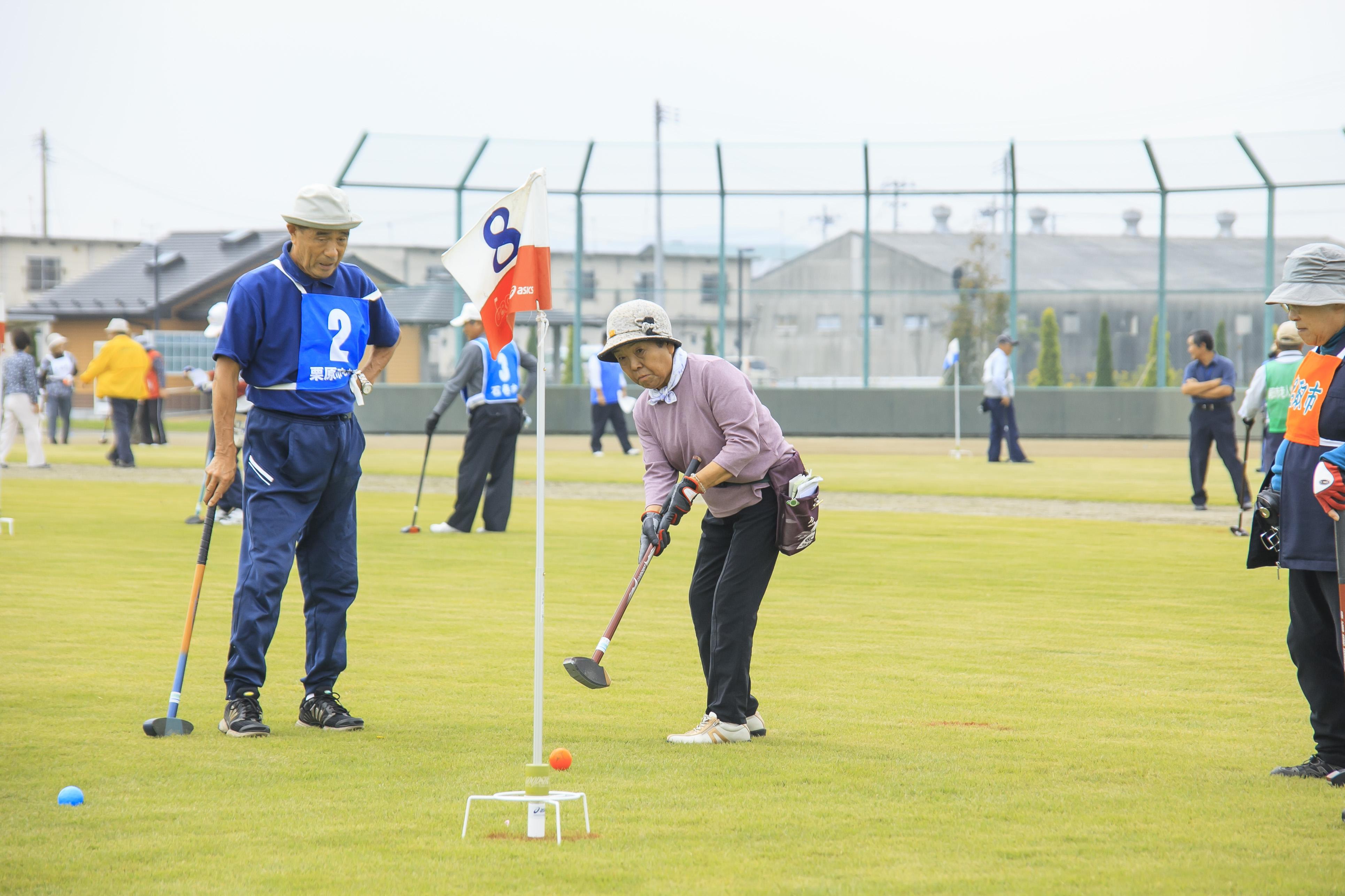 シニアスポーツ大会2013_グランドゴルフ_01